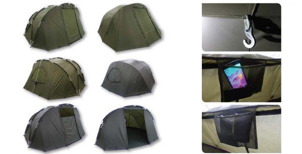Палатка за риболов CRUZADE-SESSION-BIVVY-2MAN